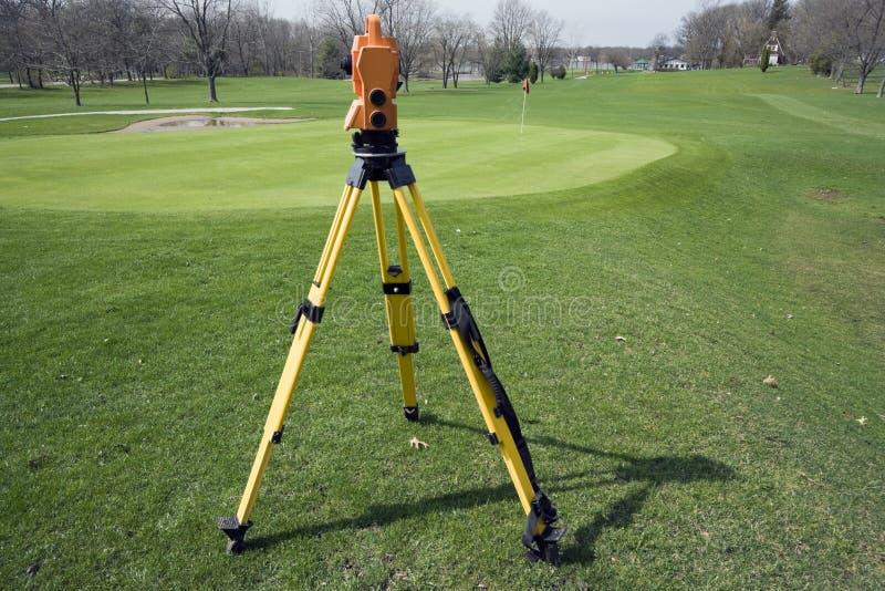 Cordon étudiant le terrain de golf photos libres de droits