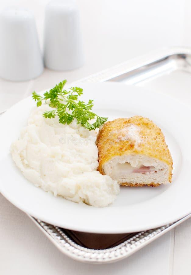 Download Cordon Bleu stock image. Image of dinner, portion, cutlet - 24904891
