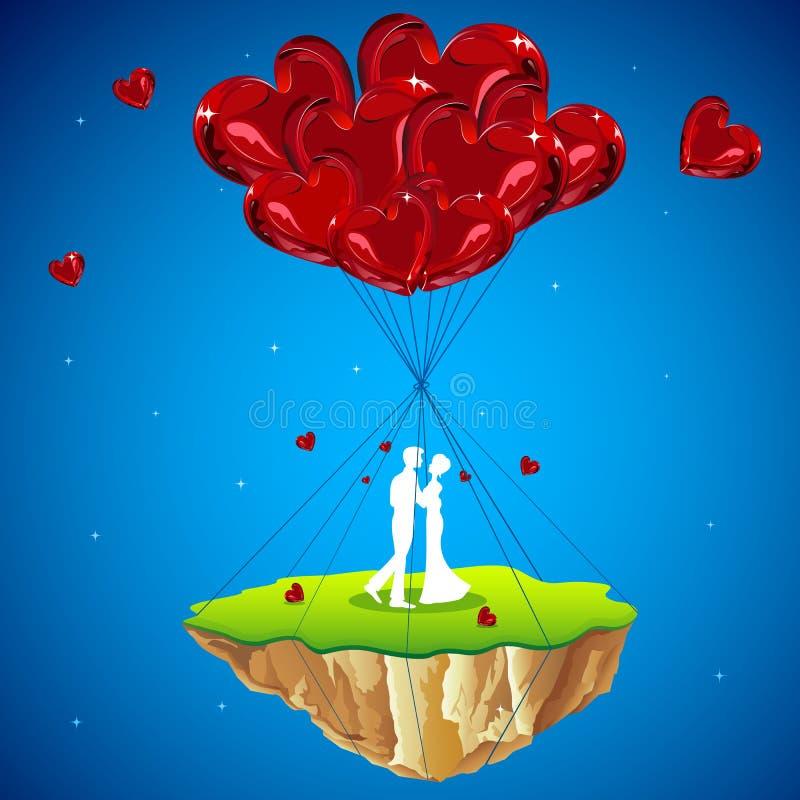 Cordon d'amour illustration stock