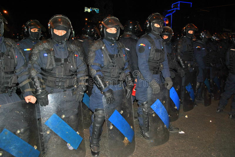 Cordon de policier photo stock