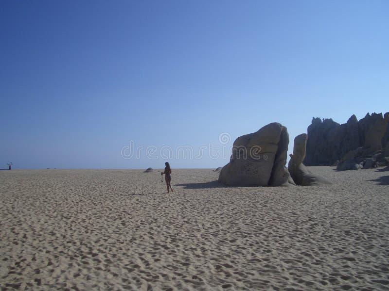 Cordon de sable image libre de droits