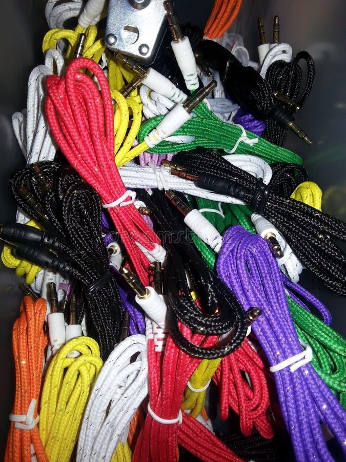 Cordones aux. foto de archivo libre de regalías