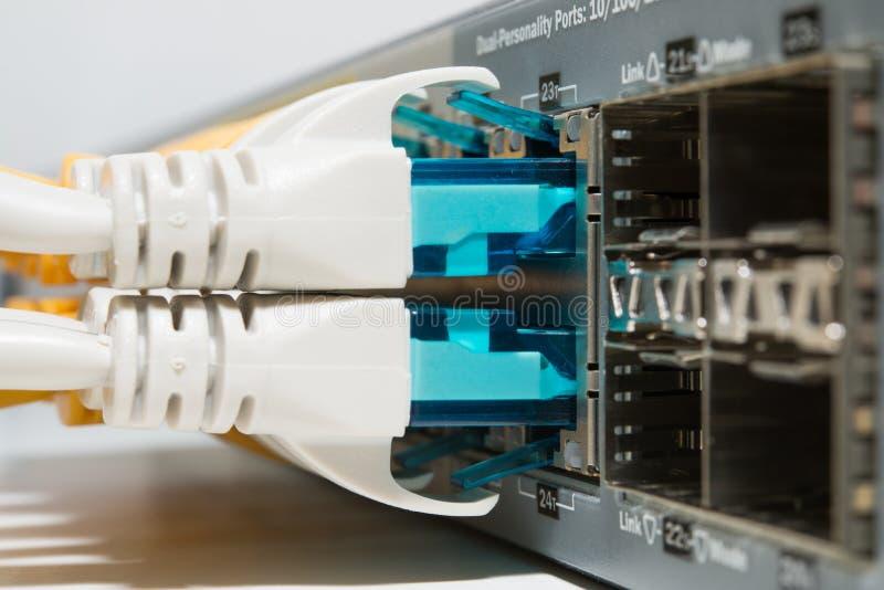 Cordones que remiendan conectados cerca para arriba imagen de archivo libre de regalías
