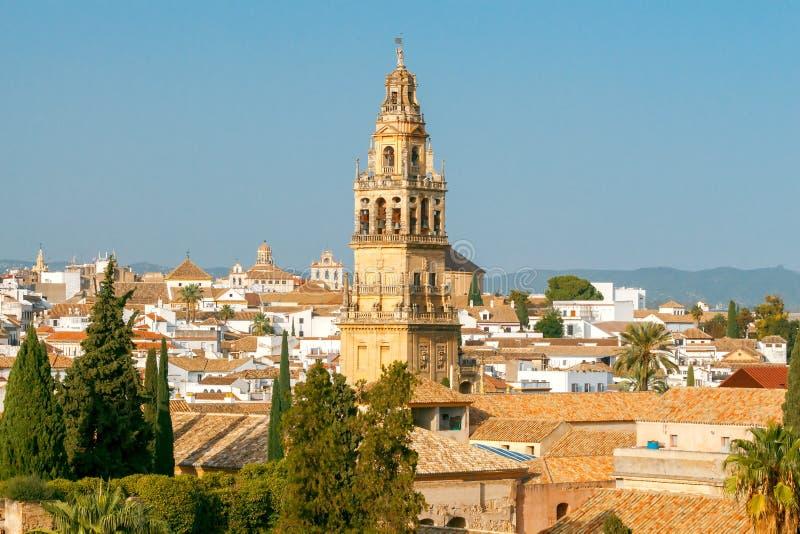 Cordova εναέρια όψη πόλεων στοκ εικόνες με δικαίωμα ελεύθερης χρήσης
