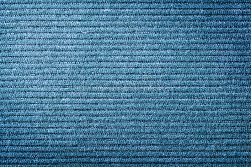 Corduroy Texture. Blue corduroy fabric texture for background. Close up shot royalty free stock photos