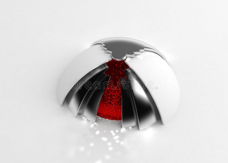 Download Core stock illustration. Image of inner, object, reflect - 4184155
