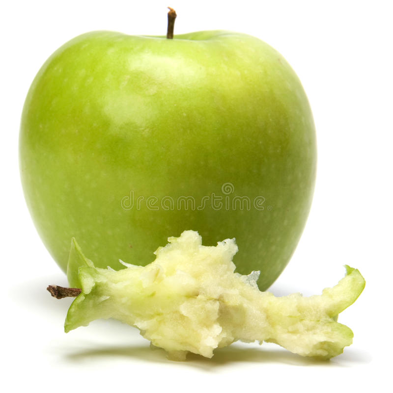 Download Core of  apple stock photo. Image of thirst, single, apple - 11890932