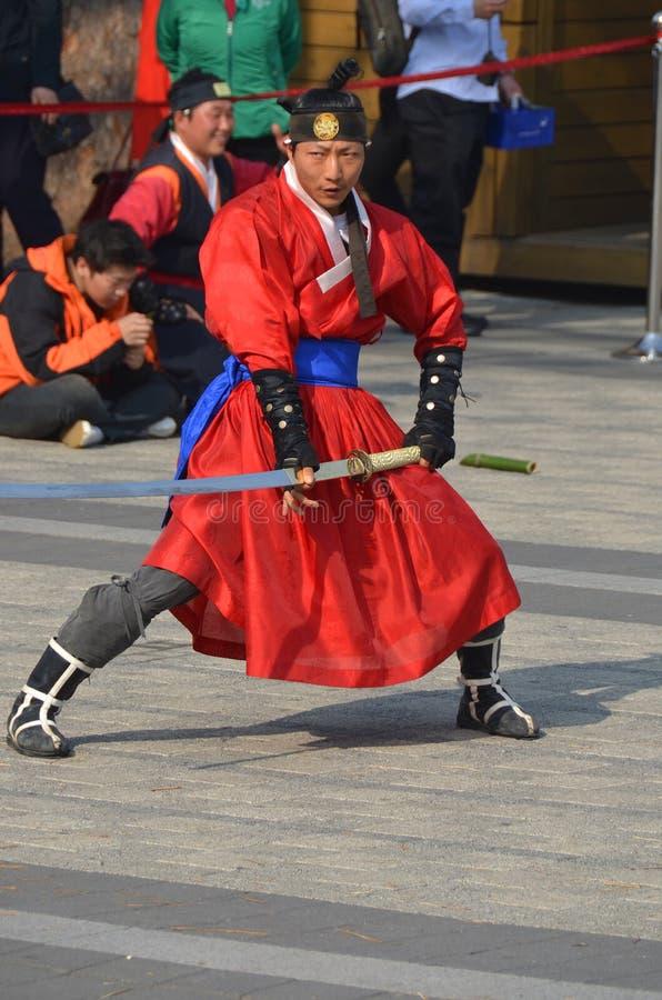 Coreano Ssaurabi fotografía de archivo