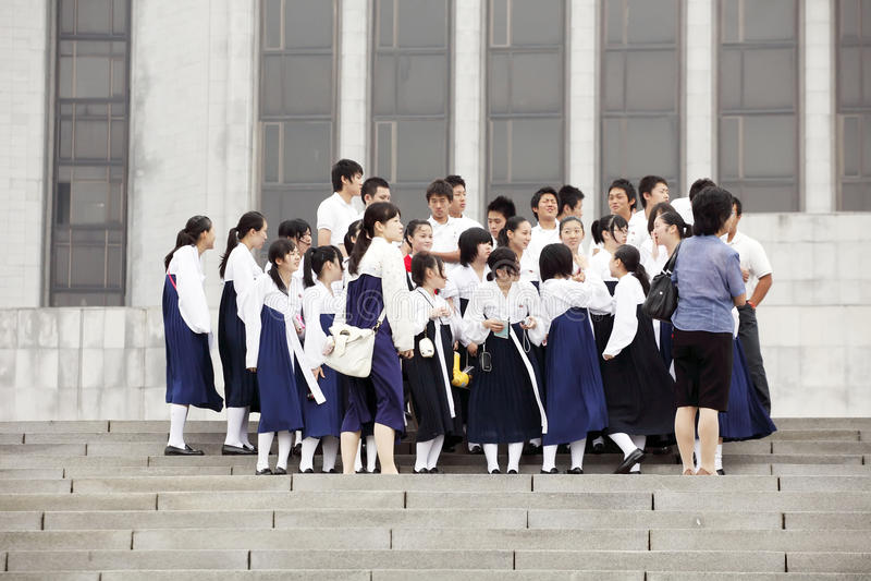 Coreia norte 2011 imagem de stock