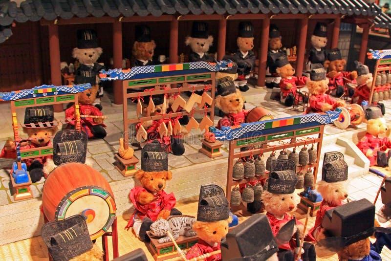 Coreia Seoul Teddy Bear Museum fotografia de stock royalty free