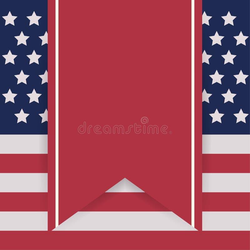 Εκλεκτής ποιότητας αφίσα ημέρας της ανεξαρτησίας r layered διανυσματική απεικόνιση
