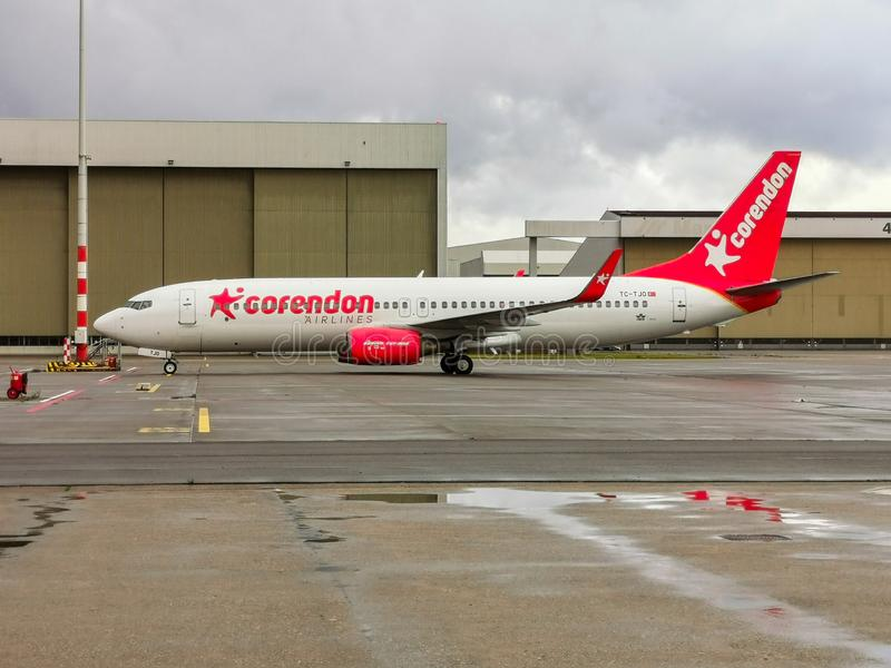 Corendon Airline Boeing 737 image stock