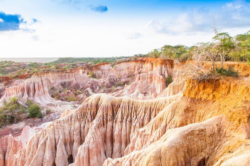 Garganta de Marafa - Kenya fotos de stock