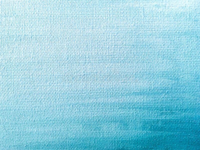Cores azuis e brancas do fundo de pintura abstrato da arte fotografia de stock
