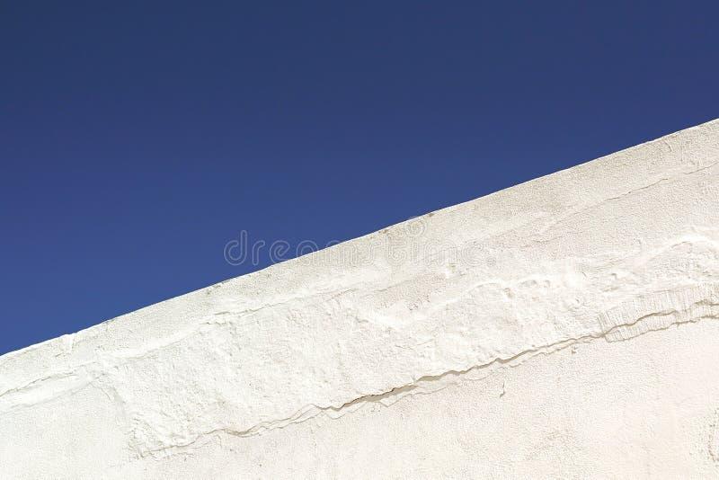 Cores azuis e brancas em Santorini, Cyclades imagem de stock