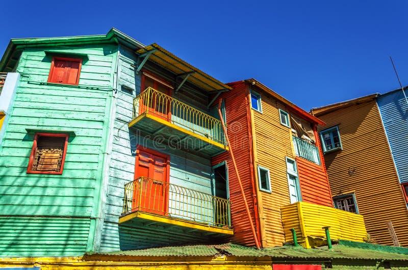 Cores brilhantes em Buenos Aires foto de stock