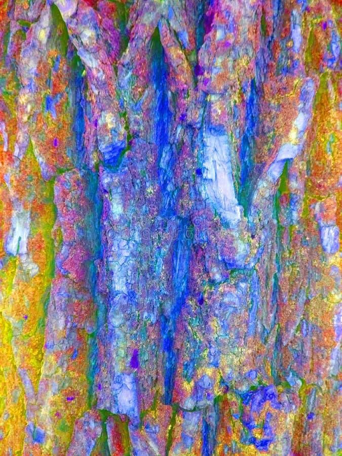 Cores brilhantes Textura de madeira fotos de stock royalty free