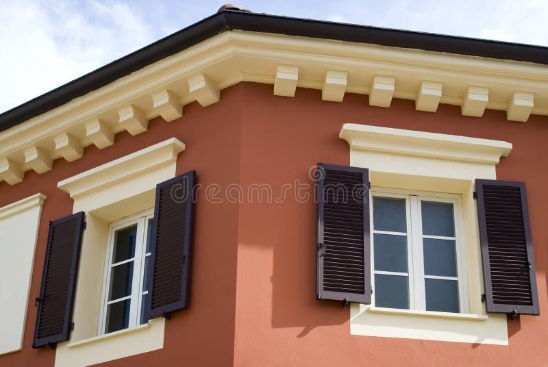 Cores da arquitetura mediterrânea fotografia de stock
