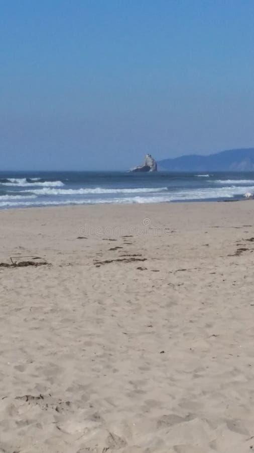 Cores da costa de Oregon imagens de stock royalty free