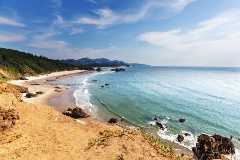 Cores da costa de Oregon fotos de stock royalty free