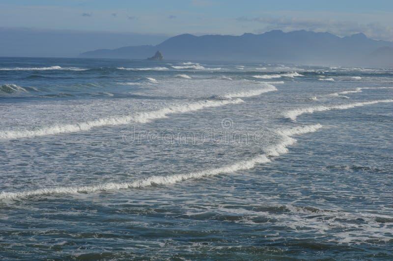 Cores da costa de Oregon imagem de stock royalty free