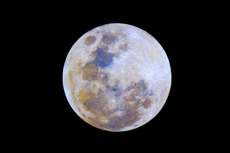 Cores da lua fotografia de stock