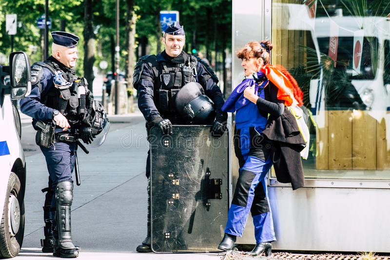 Cores de France fotografia de stock royalty free