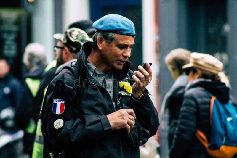 Cores de France fotografia de stock