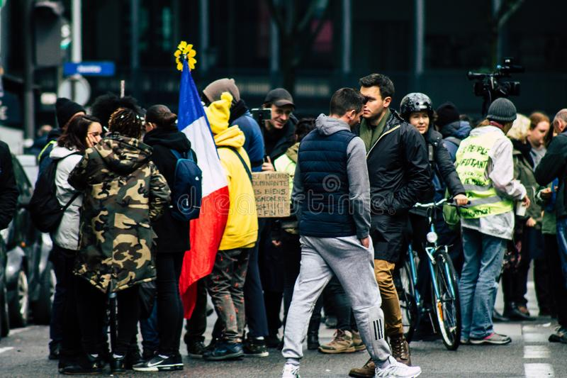 Cores de France foto de stock