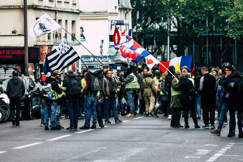 Cores de France imagem de stock royalty free