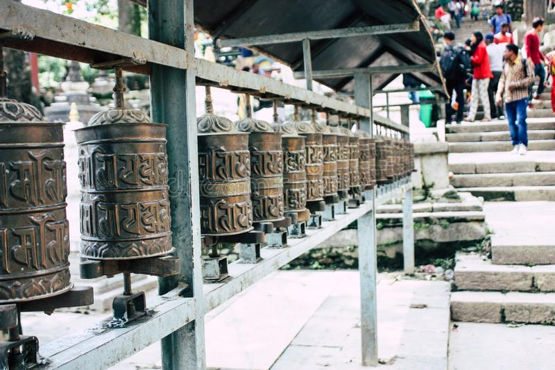 Cores de Nepal imagem de stock