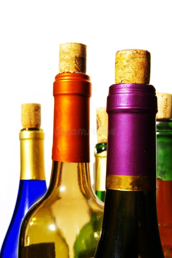 Cores de vinho brilhantes imagens de stock royalty free
