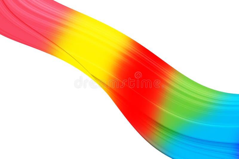 Cores do arco-íris ilustração stock