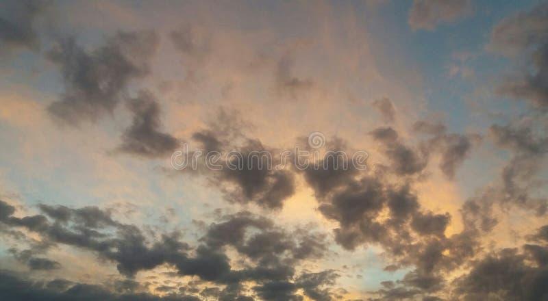Cores do céu fotos de stock