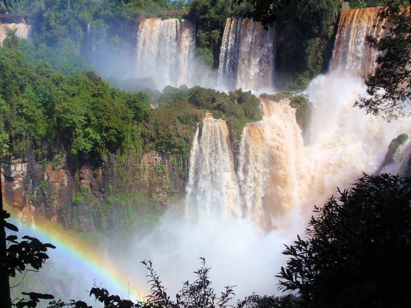 Cores do iguazu, Argentina fotografia de stock royalty free