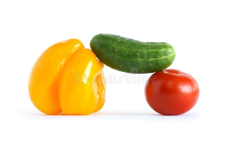 Cores dos vegetais imagem de stock royalty free