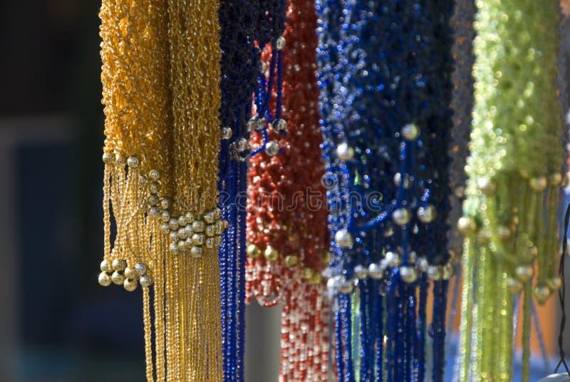 Cores no mercado egípcio fotografia de stock