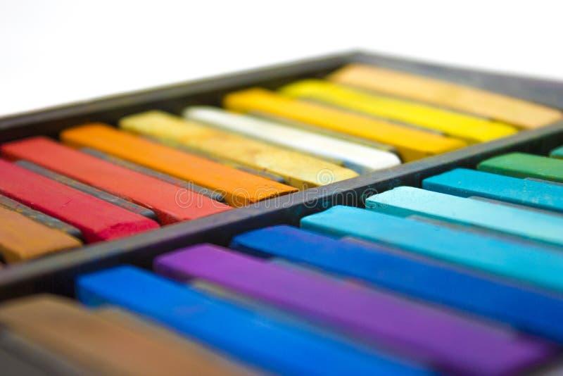 Cores pastel imagem de stock