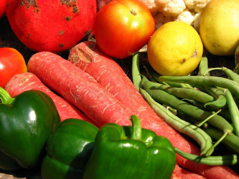 Cores vegetais fotografia de stock