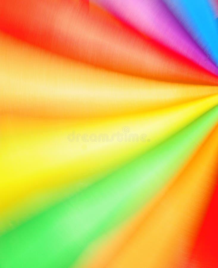 Cores vibrantes no movimento fotos de stock royalty free