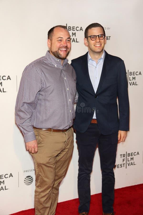 Corey Johnson przy 2018 Tribeca Ekranowym festiwalem fotografia stock