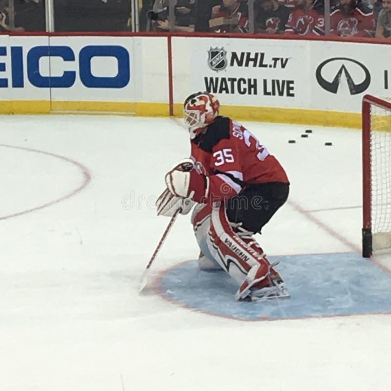 Corey Schneider, New Jersey Devils foto de archivo libre de regalías