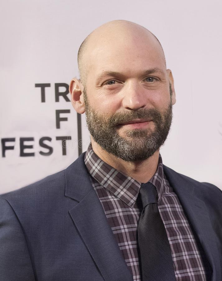 Corey Stoll en el festival de cine 2018 de Tribeca imágenes de archivo libres de regalías