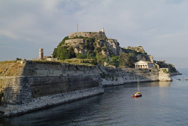 corfu希腊 库存图片