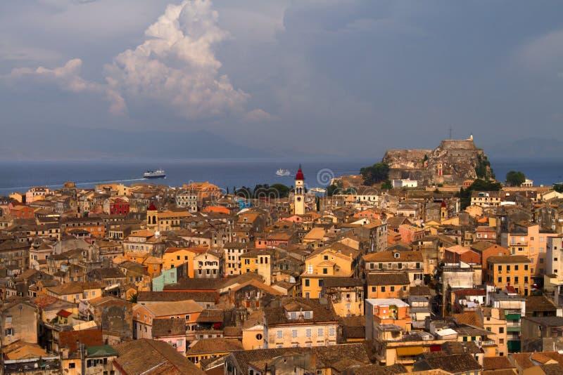 corfu стоковая фотография