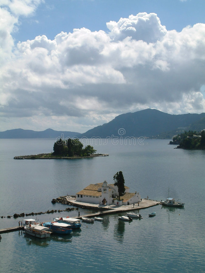 Corfu royalty free stock photo
