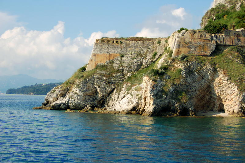Download Corfu Castle stock image. Image of cruise, town, corfu - 15286707
