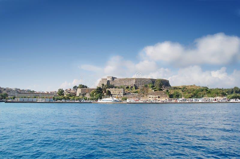 Corfu Castle royalty free stock photography