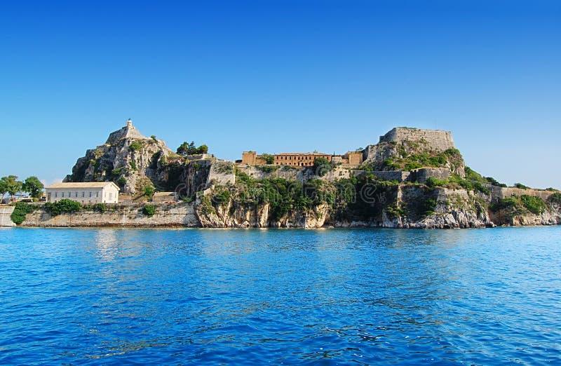 Download Corfu fortress stock photo. Image of island, corfu, ruin - 17946432