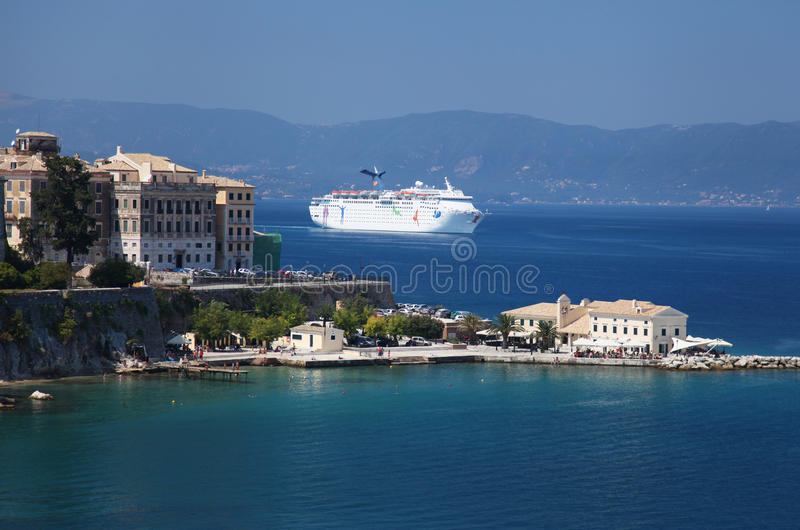 Download Corfu i Grekland fotografering för bildbyråer. Bild av greece - 27280879